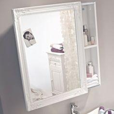 Leuke spiegel voor de badkamer!