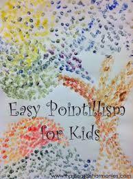 Bildergebnis für pointillism for kids
