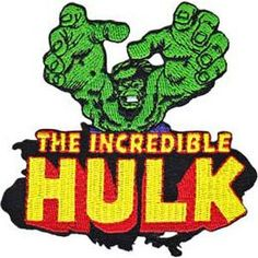 """The Incredible Hulk Embroidered Patch~FIST~3/"""" Round~Iron or Sew On~FREE US Mail"""