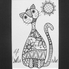 zentdoodle #cat