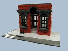 One of my spotters  (Bruce H., who has his own blog here ) has pointed out this sweet brick wall  by Jonathan Hunter .