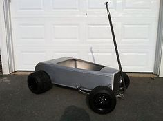 The majority of people building a rat rod now are actually employing this apparatus. A Rat Rod is a kind of car that's built with the support of old stuff. Karting, Kids Go Cart, Aluminum Fabrication, Kids Wagon, Go Kart Plans, Volkswagen Karmann Ghia, Pedal Cars, Retro Design, Custom Cars