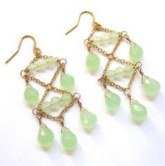 Quartz Chandelier Earrings - Jewelry by Taolei - Events