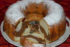 Retete Culinare - Guguluf din albusuri cu fructe deshidratate - 350 - Romanian Desserts, Cake Factory, Loaf Cake, Mcdonalds, Bagel, Doughnut, Cheesecake, Dessert Recipes, Cooking Recipes