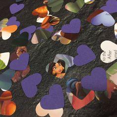 Disney Aladdin Jasmine Hearts Book Page Confetti Favour Table