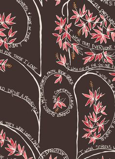 Valori Well's new collection - Wish.  I love this wishing Tree fabric