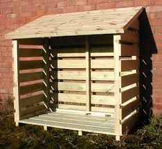 Basic log store - pallets? … …