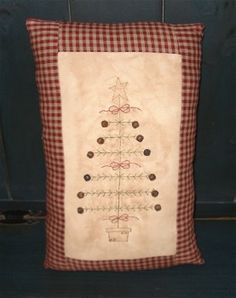 Free Stitchery PatternPrimitive-Stitches