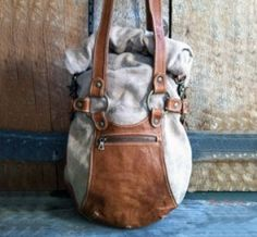 Awesome roll clip satchel.