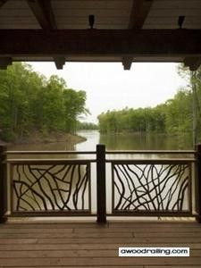 Deck Railing Ideas | Metal, Wood, Glass, More! | Pictures
