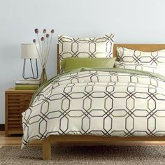 Circuits Wrinkle-Free Sateen Duvet Cover