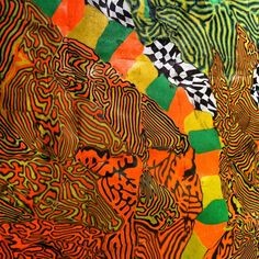 """Exposición de alfombras d plastilina """"Cenotes"""" d Magdalena Trías. Sala Abierto x Obras, #Matadero de #Madrid, hasta el 5 de enero."""