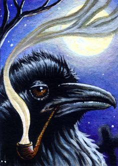wise old raven