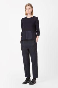 Side-pocket wool jumper @cosstores