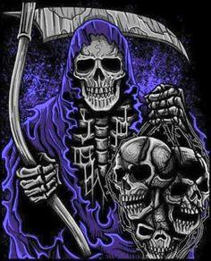 Skulls Album Cover Design, Metal Albums, Skull Art, Gothic Fashion, Bayern, Skulls, Joker, Darkness, Bavaria