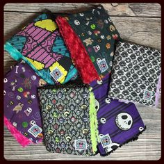 Christmas is right around the corner! Snuggle up under one of our nightmare before Christmas blankets!