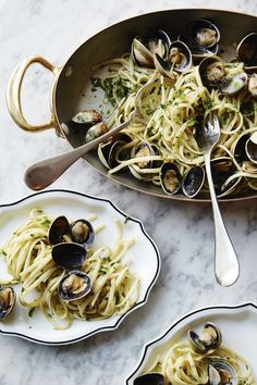 The BEST golden Seafood Recipes, Pasta Recipes, Cooking Recipes, Healthy Recipes, Seafood Pasta, Think Food, I Love Food, Enjoy Your Meal, Food Porn