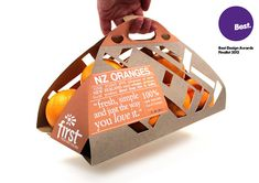 Packaging Design - Oranges on Behance