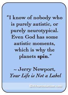 #autism quote #inspirational