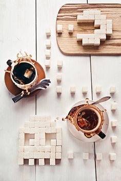 Delicious Still-Life Compositions with Sweets And Coffee by  Dina Belenko