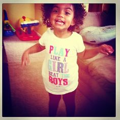 curly haired little diva.