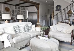 Cedar Hill Farmhouse...love the charming appeal and open concept.