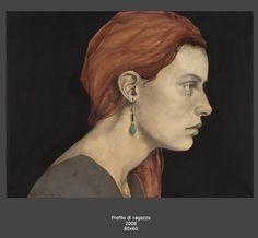 Antonella Masetti Lucarella - Profilo di ragazza (2008)