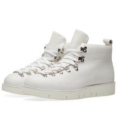 Fracap M120 Cut Vibram Sole Scarponcino Boot  True White  1