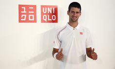 Novak Djokovic's new brand - UNIQLO #TennisCouture #TennisFashion