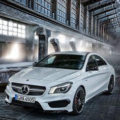 The new Mercedes CLA45 AMG - Hot Stuff!