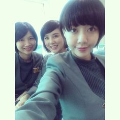 Eva Air Stewardess Crewfie