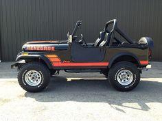 1982 Jeep CJ7 Renegade Black Survivor Restored For Sale