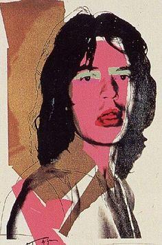 He's a rainbow: Andy Warhol's Mick Jagger