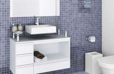 Gabinete de banheiro em modelos especiais