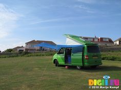 Homemade awning / sun canopy for a VW T5 Campervan ...