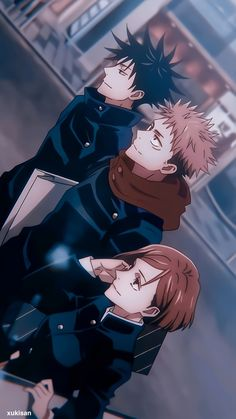 Megumi, Nobara and Itadori