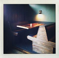 cozy bar booths