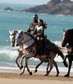 Girl warrior horseback #fantasy