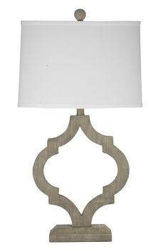 Bassett Mirror Edmonton Table Lamp BM-L2801TEC