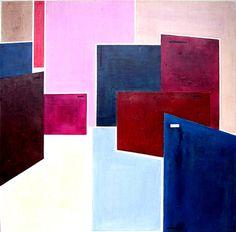 "Saatchi Art Artist Luis Medina; Painting, ""Recuerdos urbanos II  -SOLD-"" #art"
