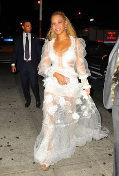 Beyoncè leaving the 2016 MTV Video Music Awards at Madison Square Garden on August 28, 2016 in New York City.