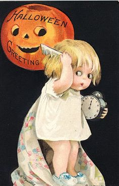 Halloween Clapsaddle Child Pumpkin Comb PC Magnet H28 | eBay