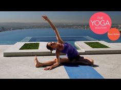 Quick 5-Minute Flexibility Yoga Routine great for stretching after a run | The Yoga Solution With Tara Stiles