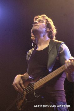 Tim Commerford of Rage Against The Machine, Audioslave, Future User and Wakrat.