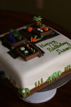 Garden Cake by bakers-cakes, via Flickr