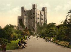 Дворцы и замки Англии: Замок Рочестер (Rochester Castle): masterok