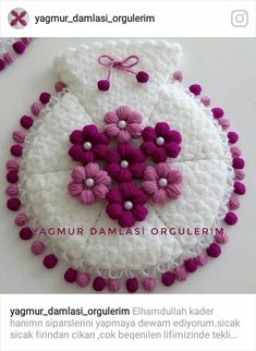 Heart stitch is one of the most famous crochet stitches out there. Some call it a puff stitch. Diy Crafts New, Diy Crafts Crochet, Crochet Art, Homemade Crafts, Crochet Flower Tutorial, Crochet Flowers, Fabric Flowers, Crochet Blanket Patterns, Crochet Stitches