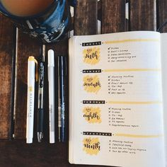 One of my favorite spreads for bullet journal. Imagen relacionada One of my favorite spreads for bullet journal. Imagen relacionada B Bullet Journal School, Bullet Journal Inspo, Bullet Journal Lettering, Planner Bullet Journal, Bullet Journal Spread, Bullet Journal Layout, Bullet Journal Ideas Pages, Journal Notebook, Weekly Log