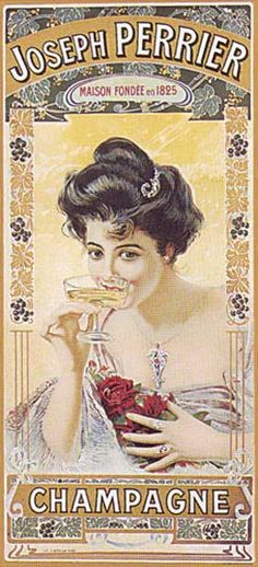 Perrier-Jouët Champagne Belle Epoque ~ Pinned by Nathalie Gobbe