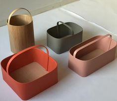In shaker colors via studiogorm- colors, design, product Posted to Souda's Tumblr From the Pinterest Board: Home Goods - Modern Decor and Accessories from Contemporary Designers